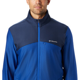 Columbia Maxtrail Fleece Midlayer Heren, azul/collegiate navy
